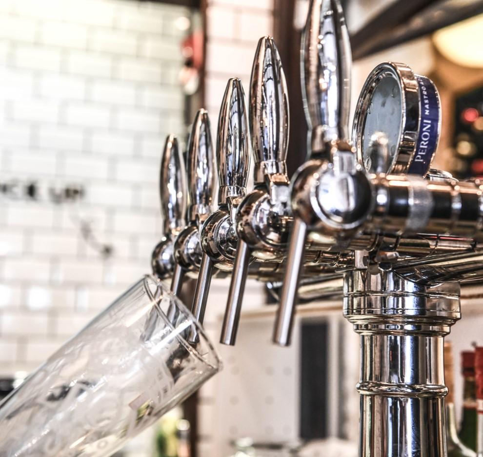 Bière pression Peroni